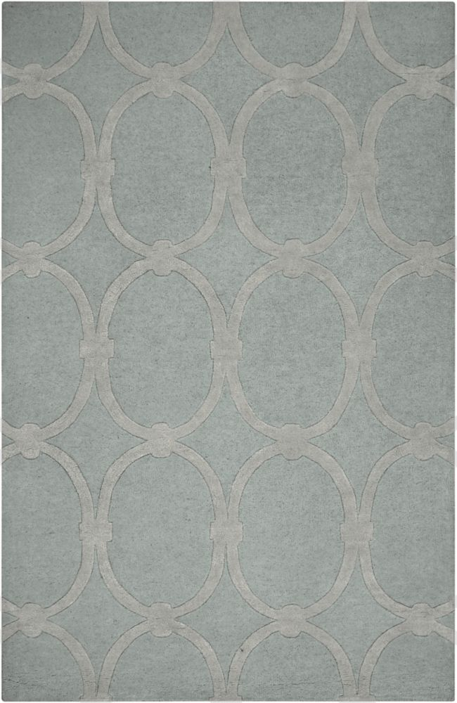 Home Decorators Collection Dalaro Gray 2 Feet x 3 Feet Indoor Area Rug