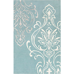 Home Decorators Collection Clovis Slate 5 Feet x 8 Feet Indoor Area Rug