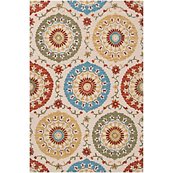 Home Decorators Collection Palomar Rust 5  ft. x 8  ft. Indoor Area Rug