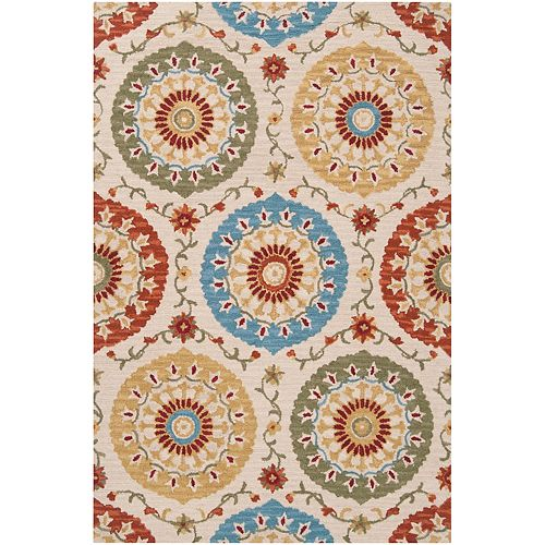 Artistic Weavers Palomar Rust 5  ft. x 8  ft. Indoor Area Rug