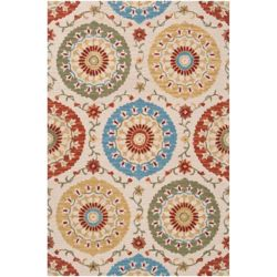 Home Decorators Collection Palomar Rust 8  ft. x 11  ft. Indoor Area Rug