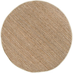 Home Decorators Collection Icarus Taupe 8  ft. x 8  ft. Round Indoor Area Rug