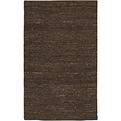 Home Decorators Collection Icarus Chocolate 5  ft. x 8  ft. Indoor Area Rug