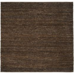Home Decorators Collection Icarus Chocolate 8  ft. x 8  ft. Square Indoor Area Rug