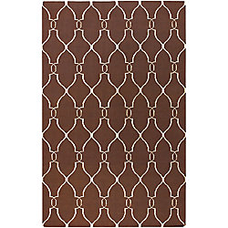 Home Decorators Collection Agios Chocolate 8  ft. x 11  ft. Indoor Area Rug