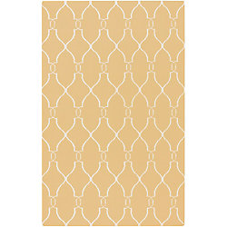 Home Decorators Collection Agios Gold 3  ft. 6-inch x 5  ft. 6-inch Indoor Area Rug