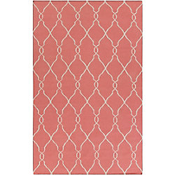 Home Decorators Collection Agios Pink 5  ft. x 8  ft. Indoor Area Rug
