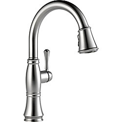 Single Handle Pull Down Kitchen Faucet, Arctic Stainless
