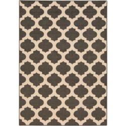 Home Decorators Collection Aggie Black 6 Feet x 9 Feet Indoor/Outdoor Area Rug