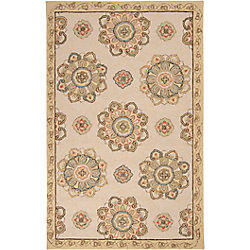 Home Decorators Collection Kelly Gold 3 Feet x 5 Feet Indoor/Outdoor Area Rug