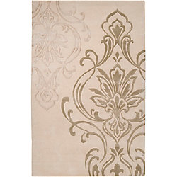 Home Decorators Collection Clovis Beige 2 Feet x 3 Feet Indoor Area Rug