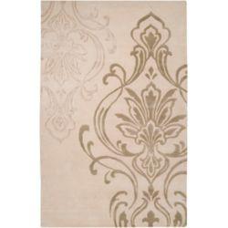 Home Decorators Collection Clovis Beige 2 ft. X 3 ft. tapis interieur