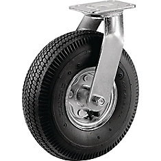 8 inch Pneumatic Wheel Medium Duty Swivel Caster