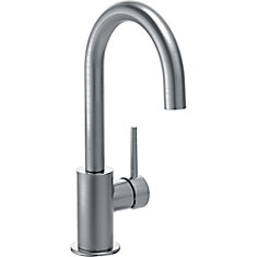 Single Handle Bar/Prep Faucet, Arctic Stainless