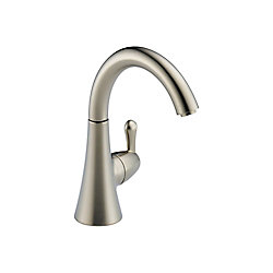 Beverage Faucet - Transitional, Stainless Steel
