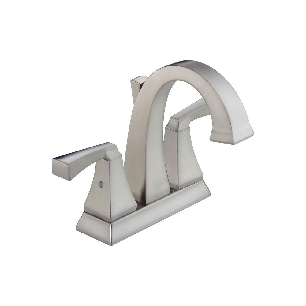 Dryden - Robinet de lavabo à deux manettes centrales