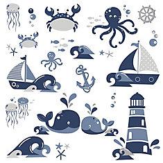 Amis de la Mer Nautique Mur Stickers