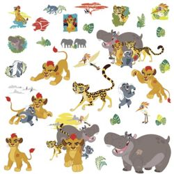 RoomMates Lion Guard Wall Decals