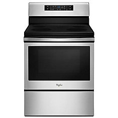 5.3 cu. ft. Electric Range with Self-Cleaning Convection Oven in Stainless Steel