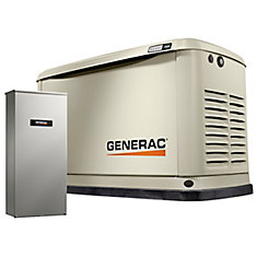 11000 WATT (LP) / 10000 WATT (NG) Generac Standby Generator With Automatic Transfer Switch