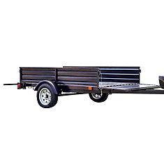 DK2 Single Axle Multi-Utility Trailer With Tilt And Extension Capabilities