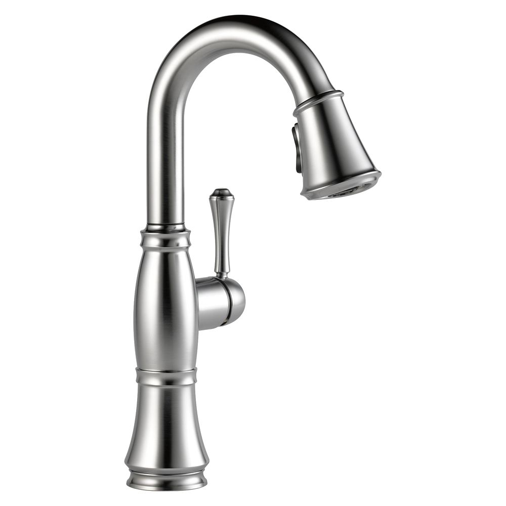 Cassidy Single Handle Bar/Prep Faucet, Arctic Stainless