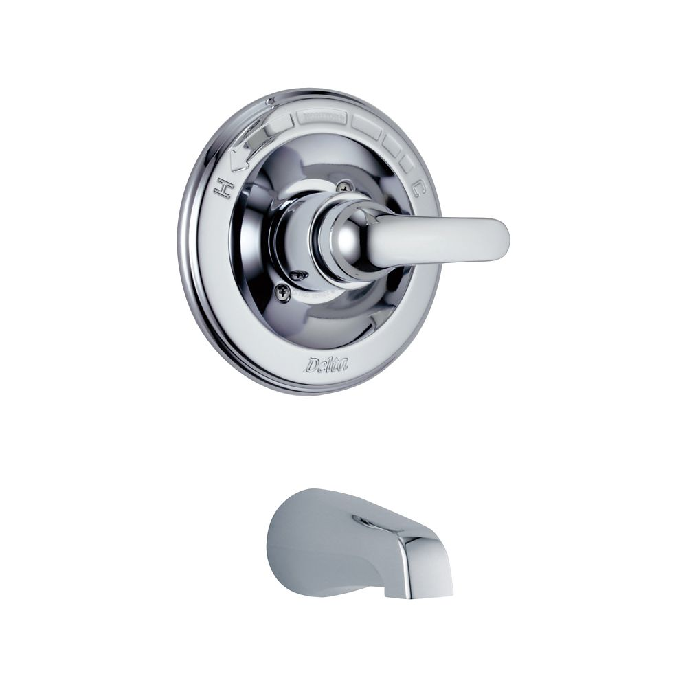 Delta Classic Monitor 13 Series Tub Trim Only Chrome