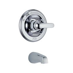 Delta Classic Monitor 13 Series Tub Trim Only, Chrome