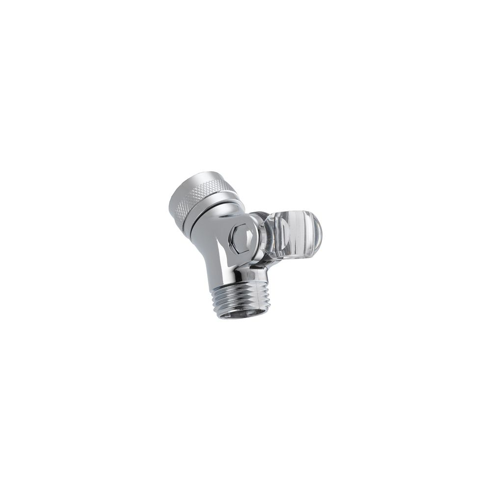 Pin Mount Swivel Connector for Hand Shower, Chrome