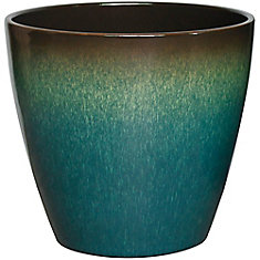 18-inch Kurv Planter in Tropical Blue