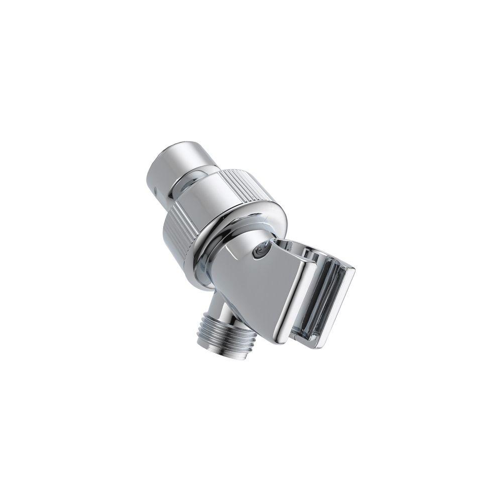 Shower Arm Mount - Adjustable, Chrome