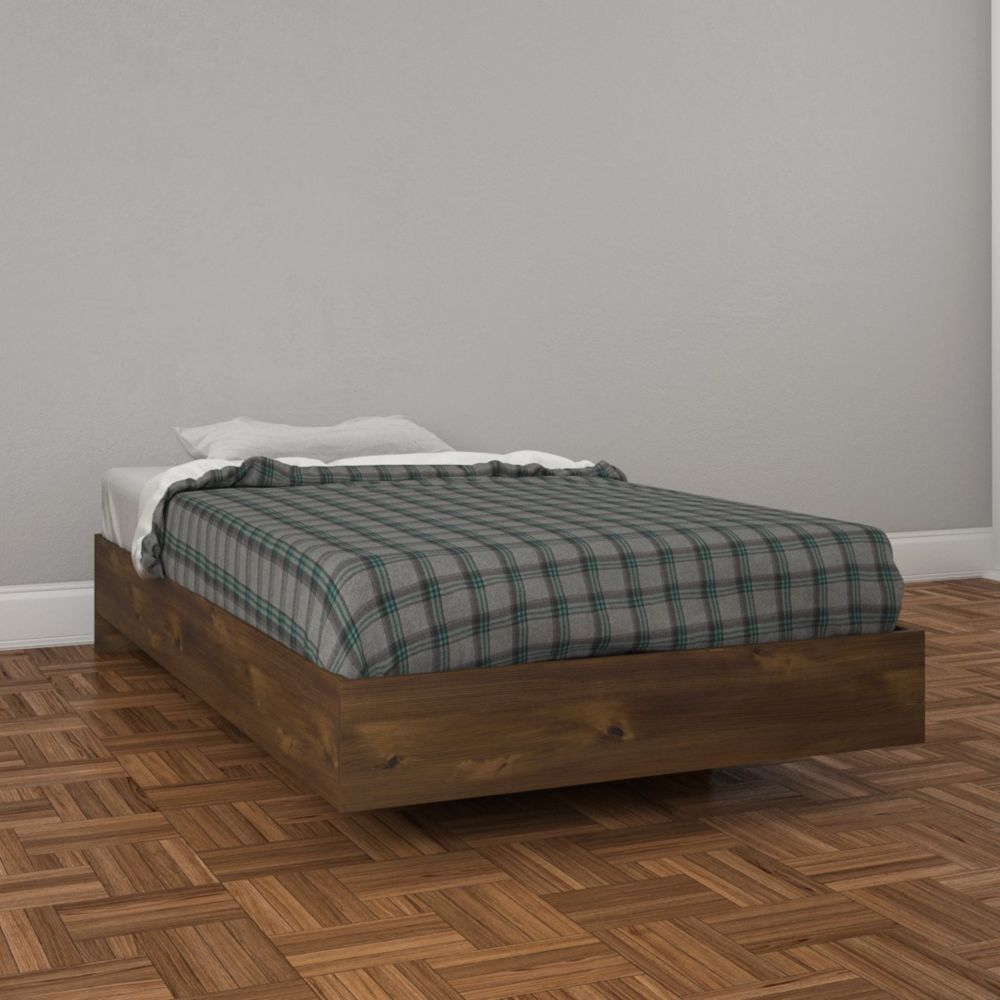 Nexera Nocce Twin Size Bed 401249 from , Truffle