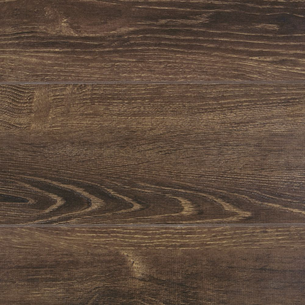 quickstyle 12mm thick brushed hickory laminate flooring sample the home depot canada. Black Bedroom Furniture Sets. Home Design Ideas
