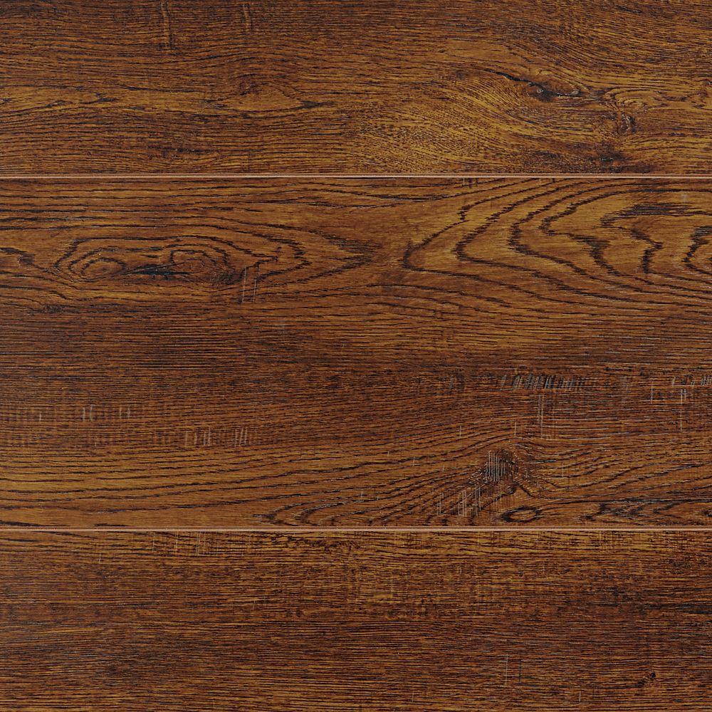 12mm Knollcrest Oak Long & Wide Laminate Flooring (23.17 sq. ft. / case)