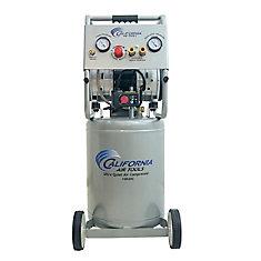 California Air Tools 10020C Compresseur d'air avec réservoir en acier, sans huile, ultra silencieux,
