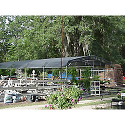 RSI Riverstone 8  Feet  X 20  Feet  Shade Cloth System With Corner Grommets - 55% Shade Creation