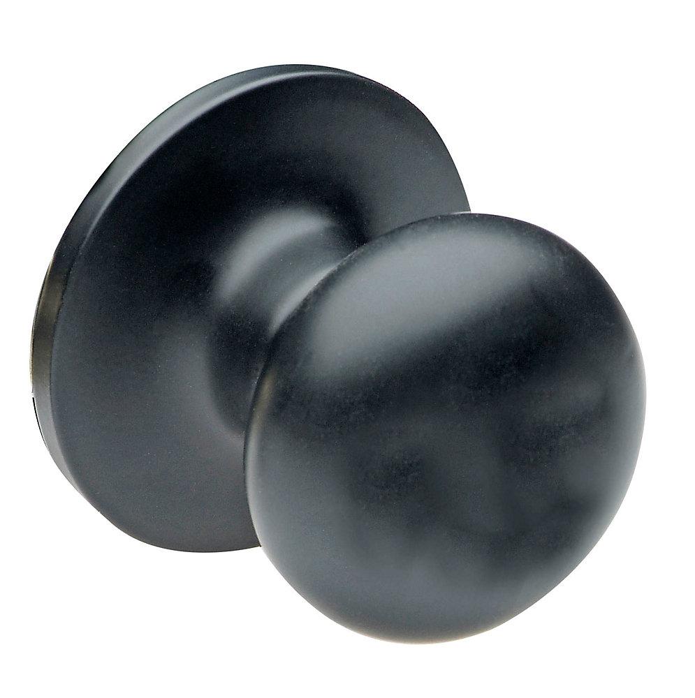 Capri Dome Knob - Dummy, Black