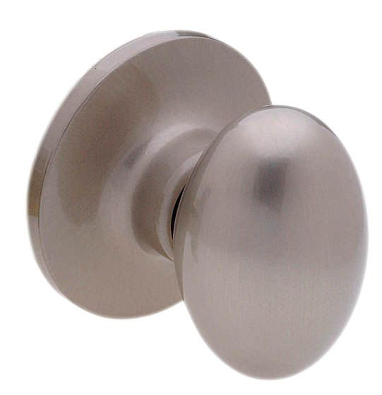 Taymor Coventry Oval Knob - Dummy, Satin Nickel