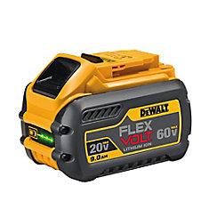 Batterie de 9.0Ah 20V à 60V MAX* FLEXVOLT DEWALT DCB609