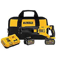 FLEXVOLT DCS388T2 60V MAX Reciprocating Saw Kit
