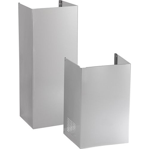 10 Ft. Ceiling Duct Cover Kit- Stainless Steel
