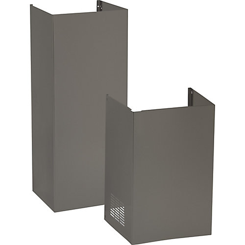 9 ft. Ceiling Duct Cover Kit in Slate