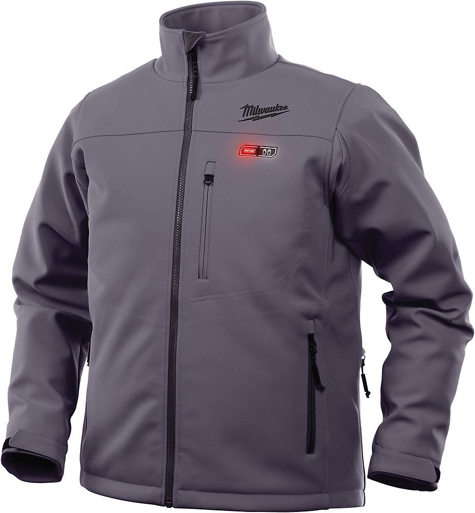 Veste chauffante sans fil M12 gris 3X - veste seulement