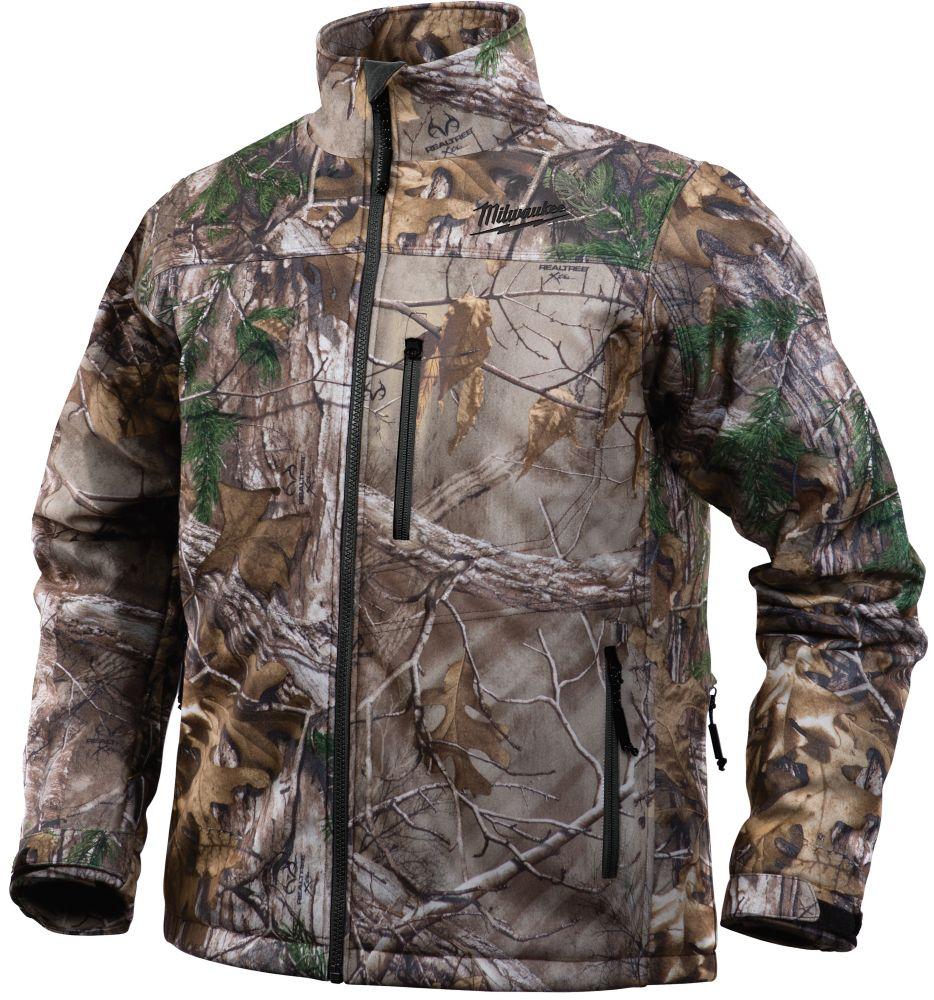 Veste chauffante sans fil de style camouflage Realtree Xtra M12 - 3TG veste seulement