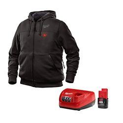 Milwaukee Tool M12 Heated Hoodie Kit - Black - 3XL