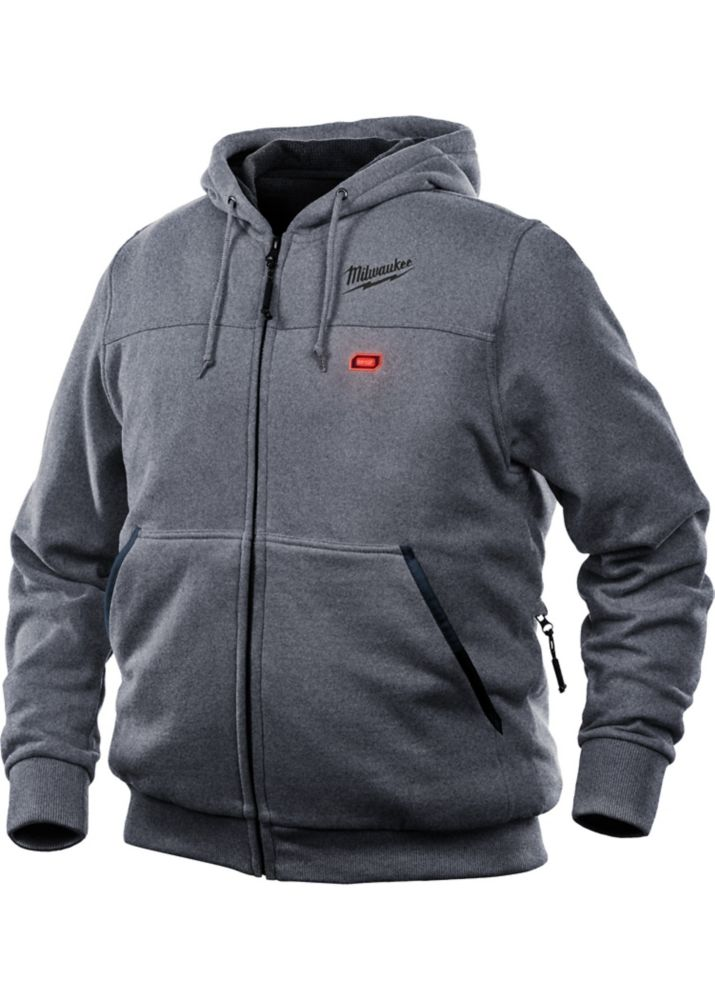 Milwaukee Tool M12 Heated Hoodie Only - Gray - Small