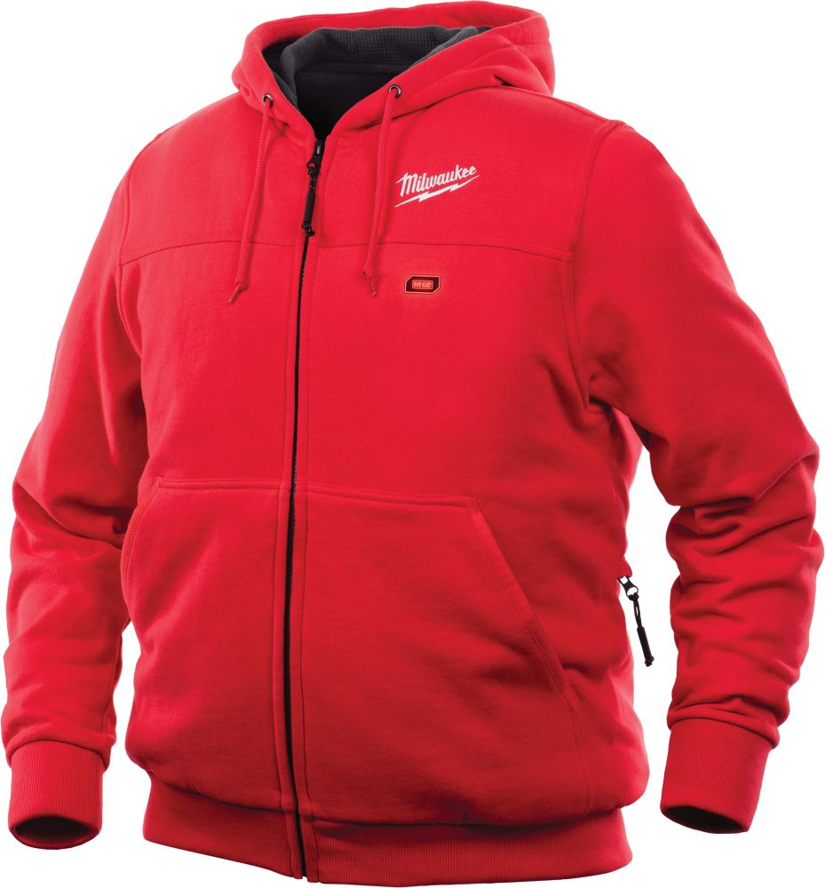 Milwaukee Tool M12 Heated Hoodie Only - Red - 3XL