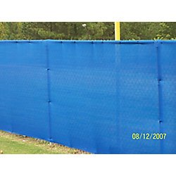 RSI Knitted Privacy Cloth 5.8 ft. x 15 ft. - Blue - 88%