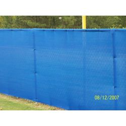 RSI 5.8 ft. x 30 ft. Knitted 88% Privacy Cloth in Blue