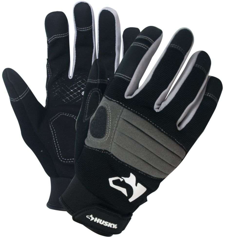 HUSKY HKY 3PK New Medium Duty Glove XL